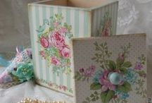 pretty boxes / by Lorna Doone