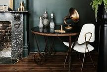 MOODY INTERIORS / DARK, MOODY INTERIORS