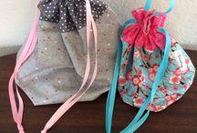 Drawstrings / Drawstring backpack