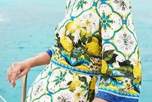Turquoise and yellow / Turquoise and yellow, a beautiful and great combination for summer. Check the most stunning combinations of bags, jewelry, clothes and accesorries in these colors.