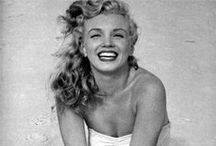 Diamonds are a girl's best friend / The style of Marilyn Monroe and hot items with her picture in clothes, bags, jewelry and more.
