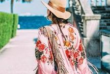 In love with the style of Ibiza / Modern hippie bags, clothes, jewelry and accessories in bright colors