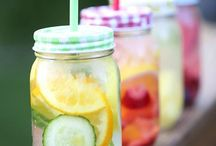Healthy Smoothies & Infused Waters / Get a tasteful dose of health while drinking refreshing smoothies or infused waters