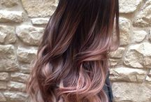 Haircut and Hair tutorials / Strawberry blonde or gold rose ombré I'm so in love with haircut