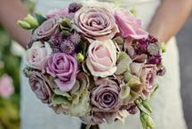 Dusky Pink Wedding Flowers / A collection of gorgeous wedding flowers ideas inspiring brides looking for mocha dusky pink and soft pink wedding flowers