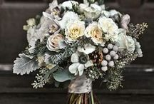 Grey Wedding Flowers / A collection of gorgeous wedding flowers ideas inspiring couples looking for grey wedding flowers and decor