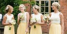 | yellow wedding flowers  | / A collection of gorgeous yellow wedding flowers ideas - inspiring brides who are looking to add a touch of yellow to their wedding flowers