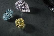 Colored Diamonds / Very rare, these diamonds are valued for the intensity of their color. They're perfect for those looking for something truly unique and non-traditional. / by Blue Nile