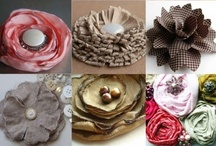Paper & Fabric Flowers / by Debbie Forney