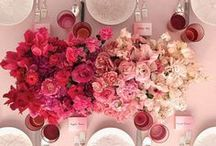 Pink Wedding Flowers / A collection of gorgeous wedding flowers ideas inspiring brides looking for Pink Wedding Flowers and Decorations