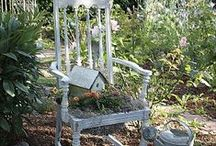 Gardening and Decor / Love.  The window in the garden idea. / by Michael Blackwell
