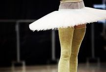 Behind the Scenes / Moscow Ballet dancers in company class, in rehearsal and on tour too.