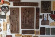Collections ~ Wood Cookie Molds ~ Springerles Presses ~ Pain d'anis ~ Butter Molds ~ Sugar Molds / by The Studio @ Northstarz ★