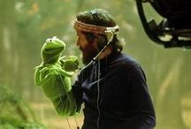 """Jim Henson ~ The Muppets / """"I don't know exactly where ideas come from, but when I'm working well ideas just appear. I've heard other people say similar things - so it's one of the ways I know there's help and guidance out there. It's just a matter of our figuring out how to receive the ideas or information that are waiting to be heard."""" ― Jim Henson / by The Studio @ Northstarz ★"""