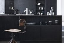 = Noir | Black = / Inspiration décoration Noir | Black interior inspiration and idea