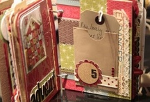 Mini Scrapbook Albums / by Debbie Forney