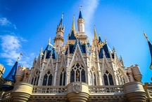 Cinderella Castle / Various photos of Cinderella Castle at the Magic Kingdom in Walt Disney World including the castle suite