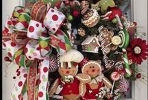 wreath ideas / by Patricia Dominguez