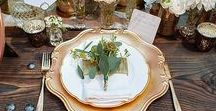 | place settings | / Place setting ideas for weddings