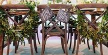 |  chair decoration | / Use this board to gather inspiration and ideas for decorating your wedding chairs. Whether that is your ceremony chairs, all the reception chairs or just the bride and groom's chairs.  At Passion for Flowers we do love floral chair decorations the best but have pinned a few other ideas too.