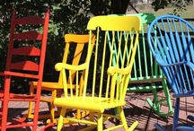 I LUV Rockin' Chairs / by Linda Swope Sibley