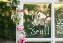 |  wedding table plans | / Inspiration for displaying your wedding table plan.