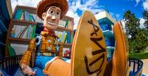 Disney's All-Star Movies Resort / Disney's All Star Movies Resort features five film-inspired themed areas. Fantasia, Toy Story, 101 Dalmatians, Mighty Ducks and The Love Bug.