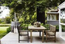 = Jardin & Terrasse = / Mes obsessions, mes idées déco pour aménager jardin et terrasse ou balcon et plus !