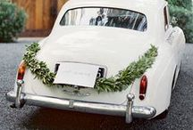 | flowers for wedding cars | / Inspiration for decorating your wedding car or getaway car