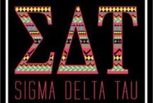 Sigma Delta Tau / by Taylor Purcell