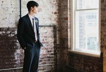 Groom Style / Men's wedding fashion