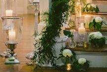 |  staircase decoration | / Inspiration for decorating staircases at weddings.