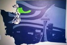 Seahawks  / by Brittany Andrews