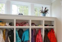 New Home--mudroom