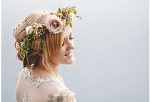 |  flower crowns | / Accessorise with  flower crown on your wedding day for you and your bridesmaids.