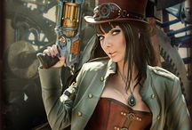 Steampunk / This is just plain freaky! Steampunk is a subgenre of science fiction and fantasy that typically features steam-powered machinery,[1] especially in a setting inspired by industrialized Western civilization during the 19th century.