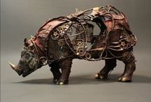 Scrap Sculptures, Amazing
