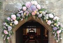 | church flowers & decorations | / Inspiration for church weddings.  To enquire about us for your wedding please visit www.passionforflowers.net