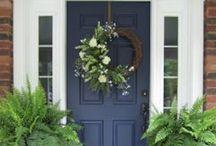 New Home--Front Door