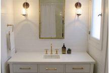 New Home--Half Bath