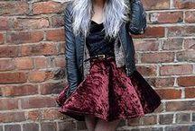 alternative / alternative Outfits; grunge usw.