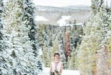 Winter Weddings / Magical winter weddings, complete with snow, crackling fires, hot chocolate and fur stoles!