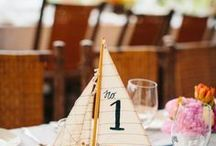 Nautical Wedding / The loveliest of yacht club weddings, weddings on the water and nautical details.