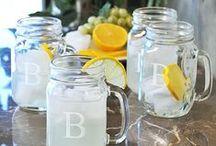 Uses for mason jars / by Nicole Bohannan