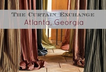 TCE - Atlanta, GA / Atlanta is the largest of The Curtain Exchange stores, We offer fabulous and exclusive custom drapes. We also offer a range of ready-made curtains as well as carrying many different hardware lines, from simple to elaborate, we also offer shades, top treatments and custom bedding. Store Location: