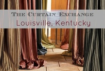 TCE - Louisville, KY / We offer ready-made window curtains that may be taken home and tried out prior to purchase. Our range and styling is unequaled in the area. In addition we offer custom draperies made from our extensive selection of fabrics. Store location: 3733 Lexington Road The Vogue Center, Louisville, KY 40207. (502) 895-9099 . Visit our store page for more information about our products & services: http://thecurtainexchange.com/store-locator/curtain-exchange-louisville / by The Curtain Exchange