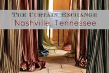 TCE - Nashville, TN / We pride ourselves in stocking designer window treatments that are up to date and fashion forward. Our unique concepts allows you to take home and try out our ready-made curtains before you buy. We also offer custom draperies made from our extensive range of fabrics.  4103 Hillsboro Cir, Nashville, TN 37215. (615) 463-2727. Please visit our store page for more information about our products & services http://thecurtainexchange.com/store-locator/curtain-exchange-nashville  / by The Curtain Exchange