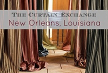 TCE - New Orleans, LA / We offer ready to hang curtains made from our wide range of fabrics, many of which are exclusive to us. Hardware, trim, shades and custom bedding are just some of the options we are able to provide to our customers when they visit our store. Store Location: 3936 Magazine Street, New Orleans, LA 70115. (504) 897-2444. Please visit our store page for more information about our products & services. http://thecurtainexchange.com/store-locator/curtain-exchange-new-orleans / by The Curtain Exchange