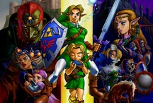 The Legend of Zelda / by Andrea Call
