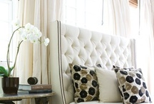 BEDROOMS / Bedroom window inspirations + solutions + headboards + canopy beds. / by The Curtain Exchange